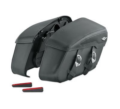 motorcycle saddlebag accessories | harley-davidson usa