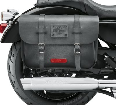 Express Rider Large Capacity Leather Saddlebags 90201725 Harley Davidson Usa