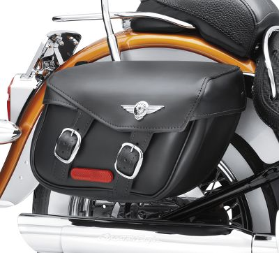 Softail Leather Saddlebags Fat Boy Styling 90320 00d Harley Davidson Usa