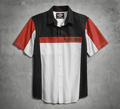 men's performance fast-dry colorblock shirt | performance
