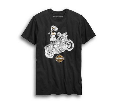63af435b Men's Sun's Out Slim Fit Tee - 9678319VM | Harley-Davidson USA
