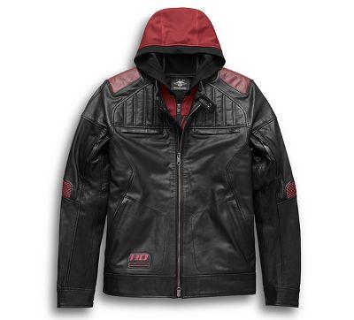 Men S Donhill 3 In 1 Leather Jacket 9702619vm Harley Davidson Usa
