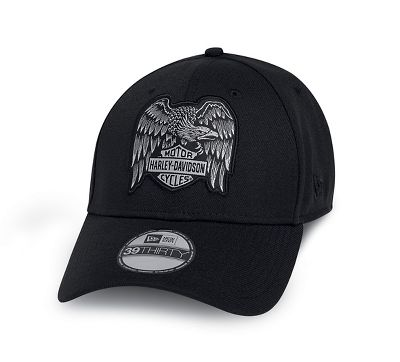 Black Harley-Davidson Men/'s Screaming Eagle Open Road Baseball Cap