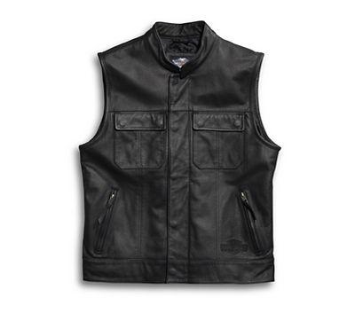 0660eee51b3a Men s Foster Leather Vest - 9809015VM