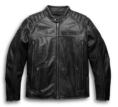 Men's Midway Distressed Leather Jacket | Leather | Official Harley ...