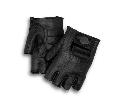 834bdc1349184a Men's Perforated Fingerless Gloves - 9818299VM | Harley-Davidson USA