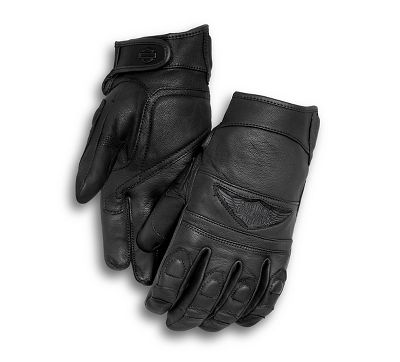 Distressed Full-Finger Gloves