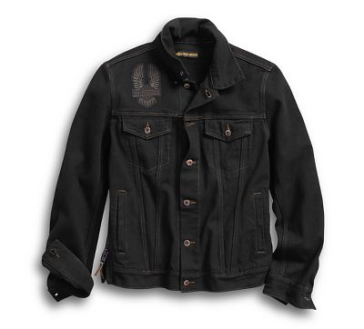 a4d8759706bc Men's Eagle Appliqué Denim Jacket - 9859218VM | Harley-Davidson USA