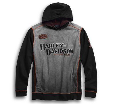 men's motorcycle sweatshirts & fleece | harley-davidson usa