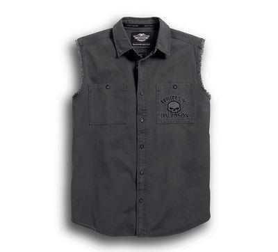 men's skull blowout shirt | sleeveless | official harley-davidson