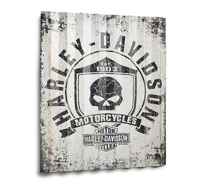 collectible tin signs | nostalgic tin signs | harley-davidson usa