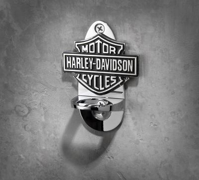 wall mount bottle opener | bar accessories | official harley