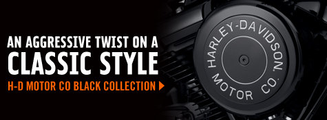 H-D Motor Co Black Collection