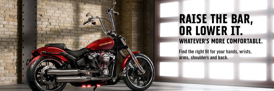 Motorcycle Handlebars, Controls & Grips | Harley-Davidson USA