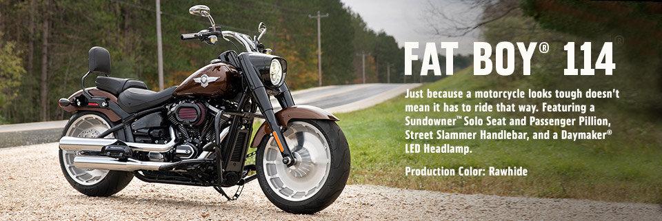 2019 Fat Boy 114 | Customized Bikes | Harley-Davidson USA
