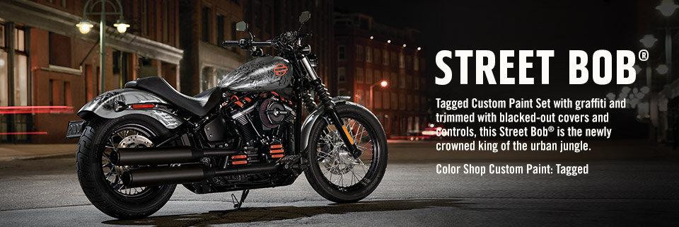 2019 Street Bob   Customized Bikes   Harley-Davidson USA