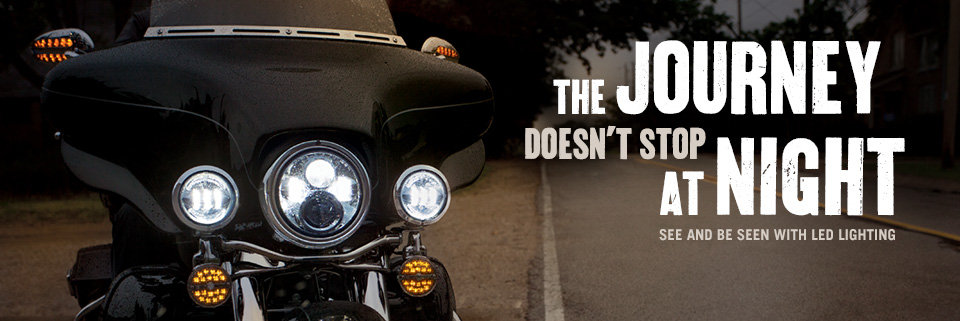 motorcycle led lights   led brake & head light kits   harley-davidson