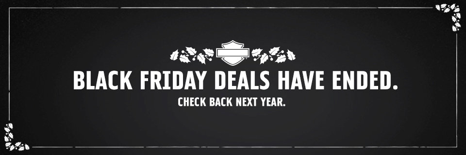 Harley-Davidson Black Friday Sale