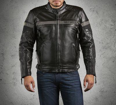 Men's Triple Vent System Evolution Waterproof Leather Jacket ...