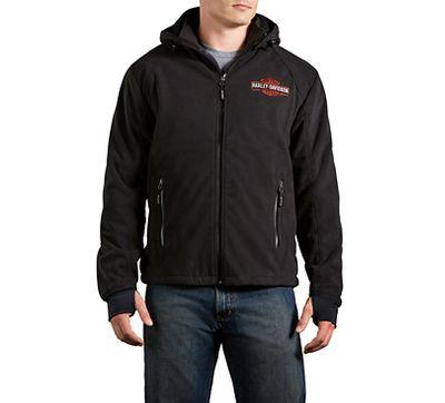 Men's Roadway Waterproof Fleece Jacket | Textile | Official Harley ...