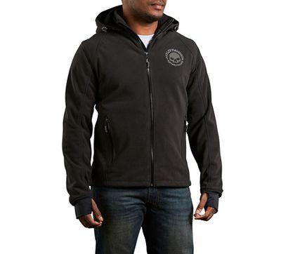 Men's Cross Roads Waterproof Fleece Jacket | Textile | Official ...