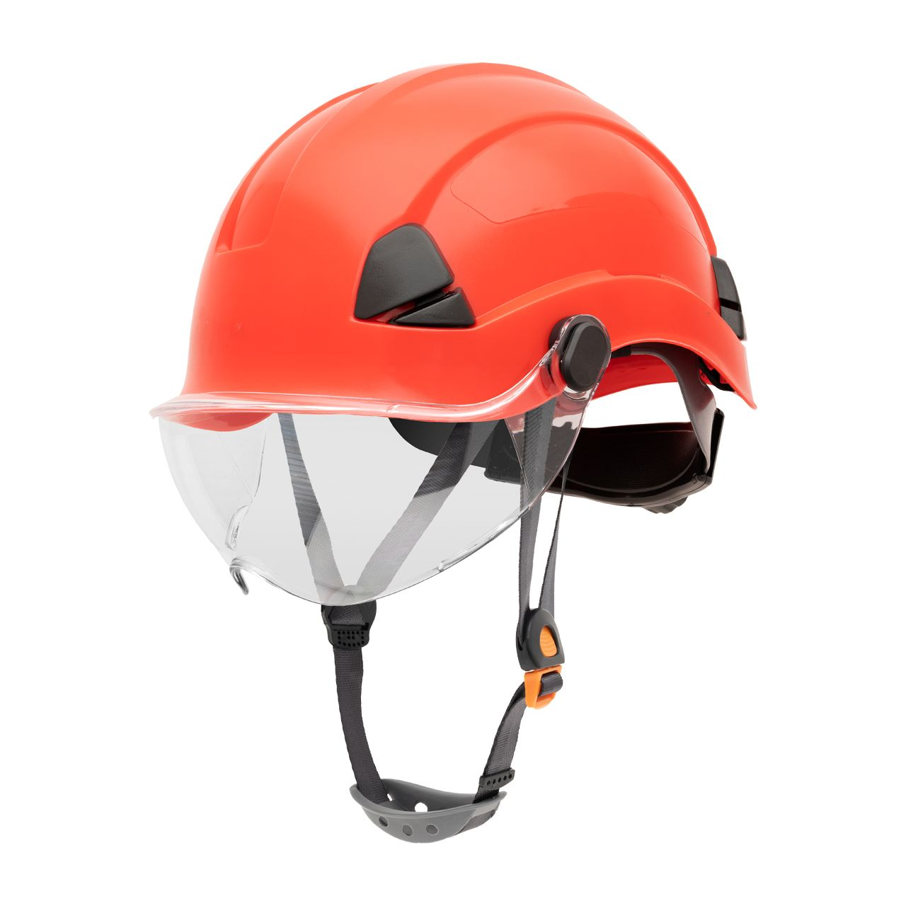 FSH10015 Honeywell Fibre Metal Safety Helmet Product Shot NA Non Vented Side