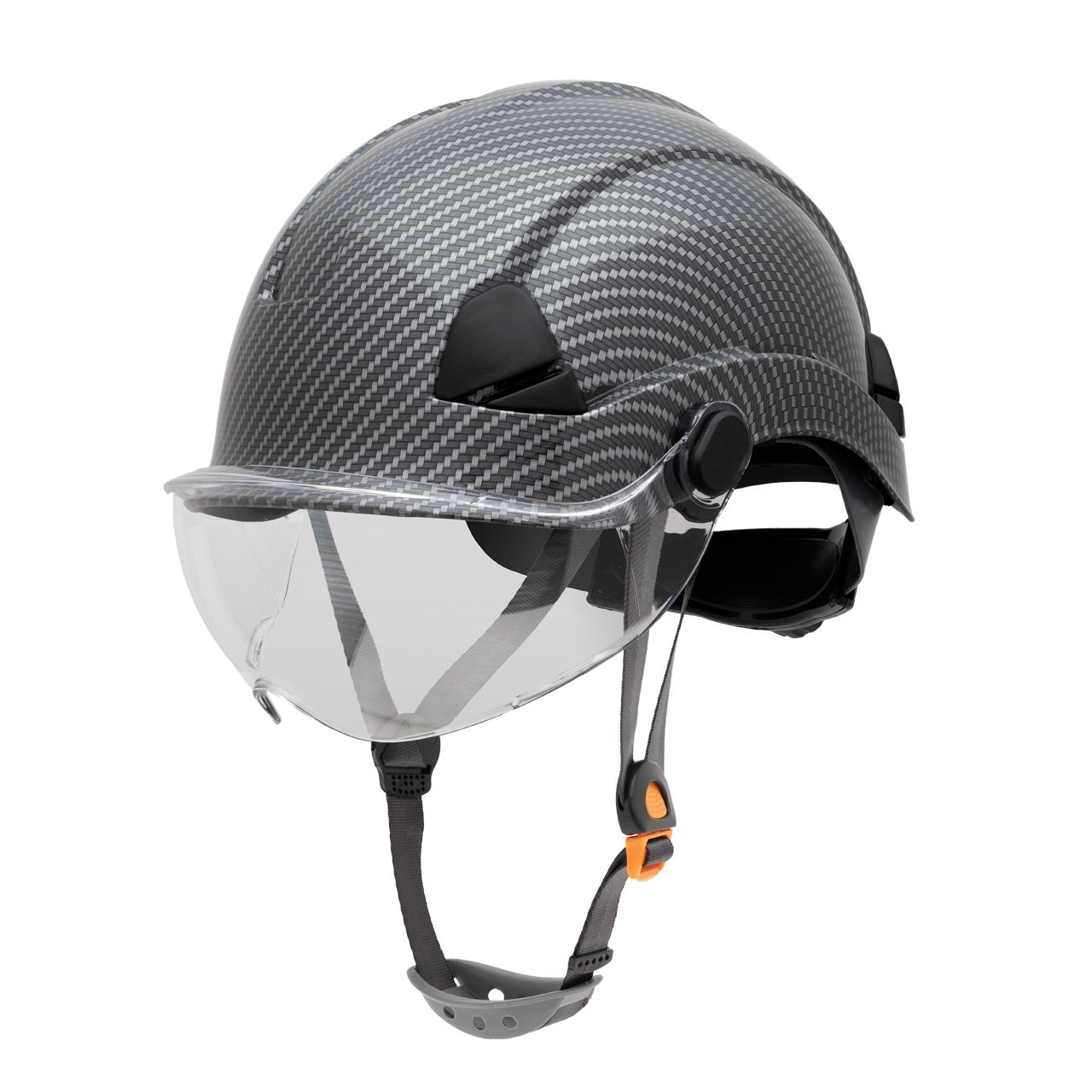 FSH10080 Honeywell Fibre Metal Safety Helmet Product Shot NA Non Vented Side