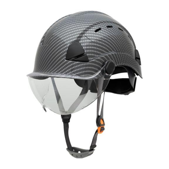 FSH11080 Honeywell Fibre Metal Safety Helmet Product Shot NA Vented Side