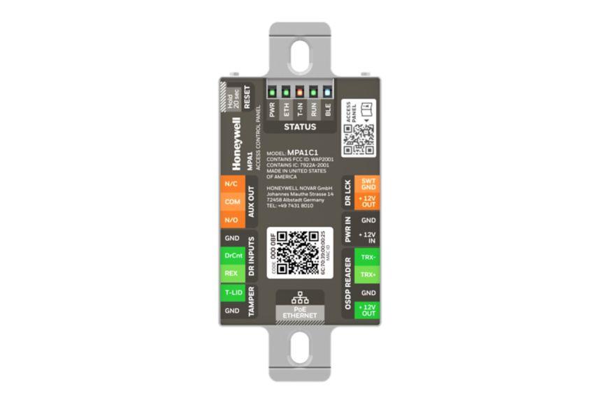 MPA1 Miniature Access Conrtol Panel