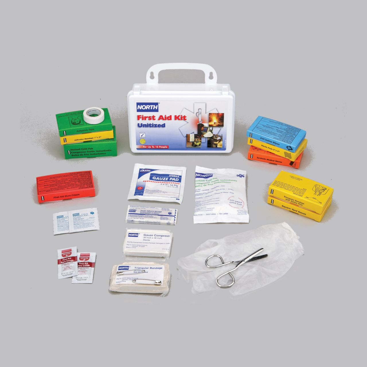 HS_019708-0005l_-_unitized_first_aid_kit,_10_unit,_plastic_north_019708_kit