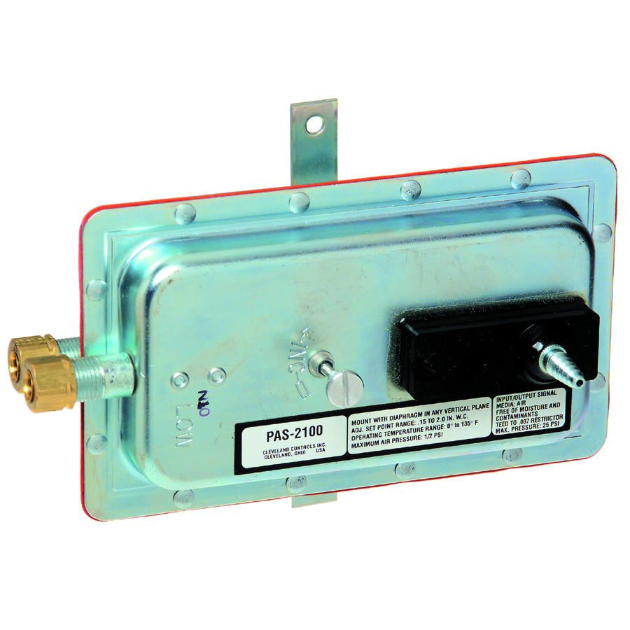 CLEPAS Pneumatic Airflow Differential Pressure Switch