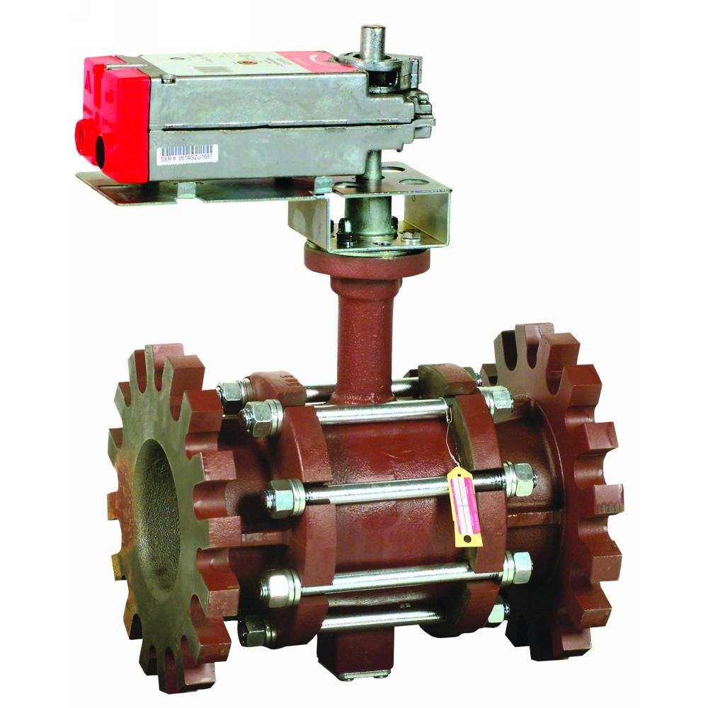 Control Ball Valves with Flanged Connection
