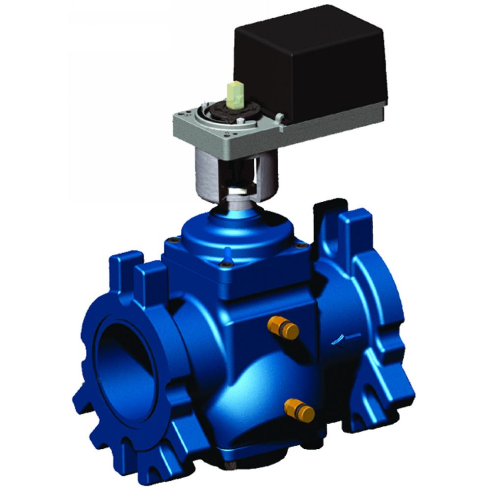 VRW2 Dynamic Pressure-Regulating Flanged Control Valves