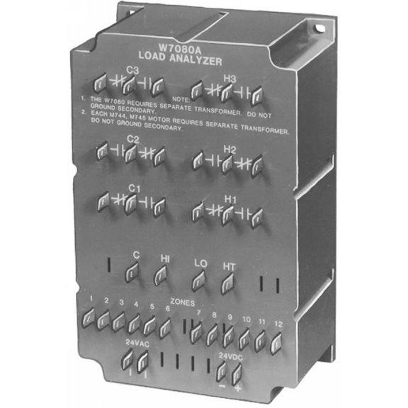 W7080 Multizone System Load Analyzer