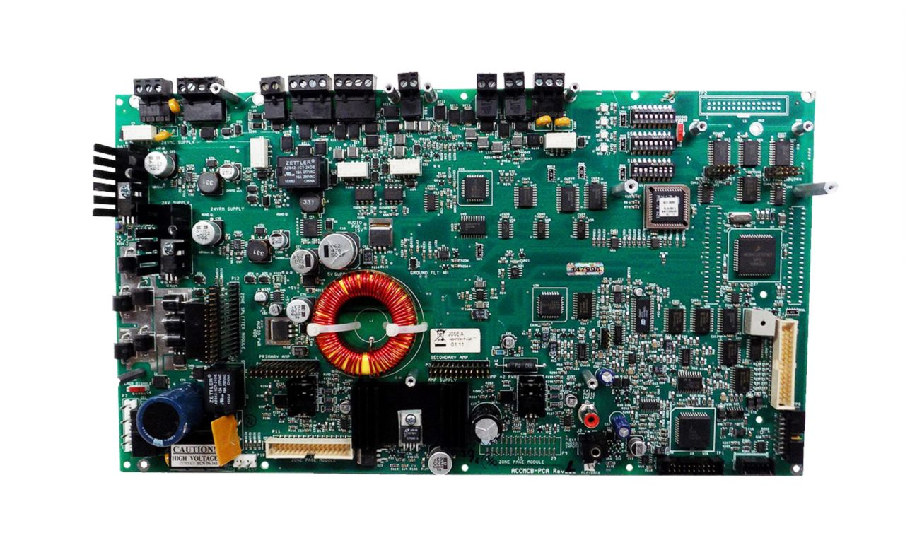Voice Evacuation Control Panel�Motherboard