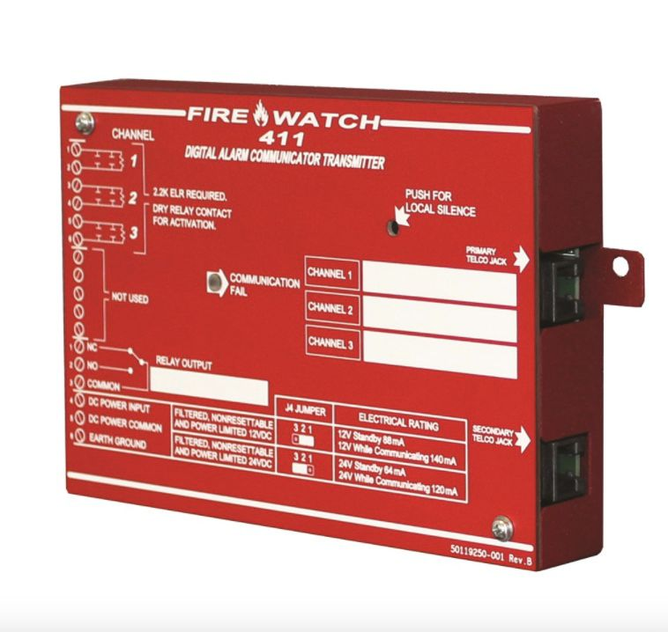 411 Fire Alarm Communicator