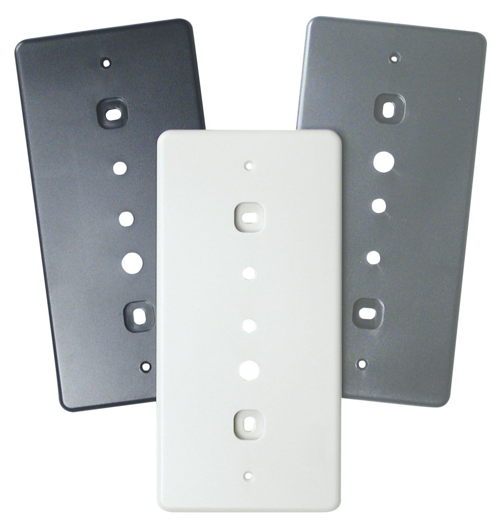 OP30 Single Gang Adapter Plate Set
