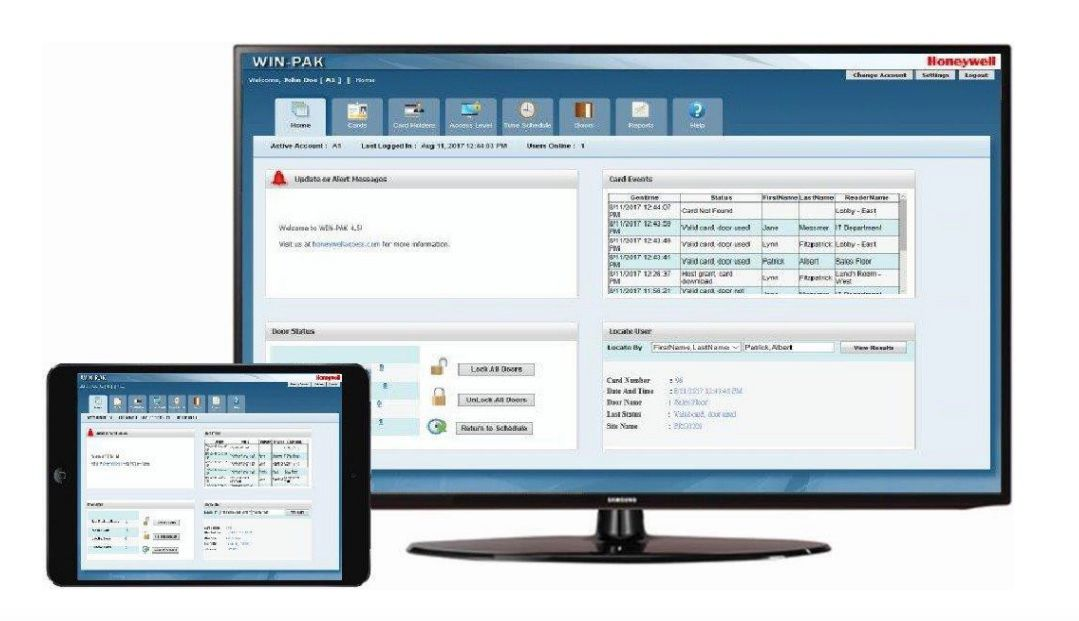 WIN-PAK� 4.0 Integrated Security Software