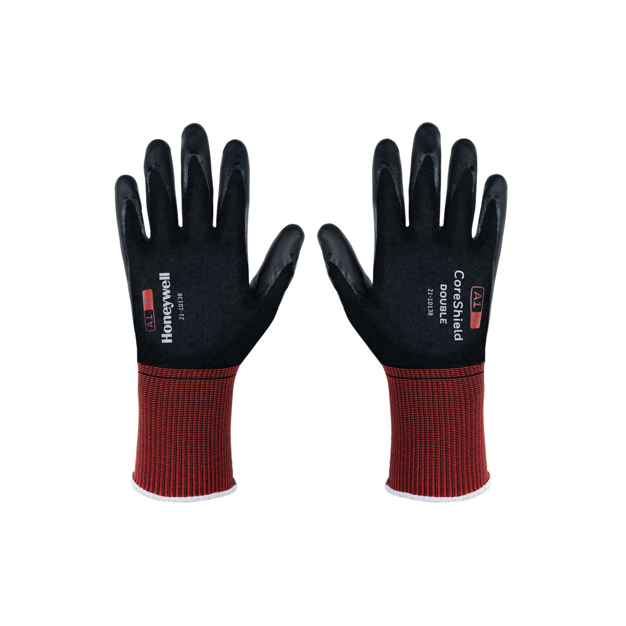 Honeywell Coreshield Double Hand Protection - Burgundy