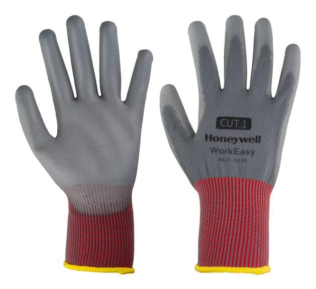 Honeywell Workeasy Safety Gloves – red