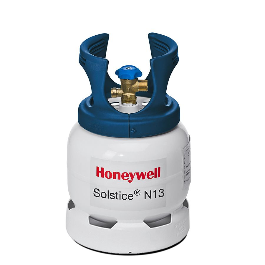 Solstice�N13 (R-450A) is a nonflammable, reduced-GWP replacement for HFC-134a in medium-temp applications: heat pumps, air- and water-cooled chillers, district heating/cooling systems, vending machines/beverage dispensers, and CO2 cascade systems.