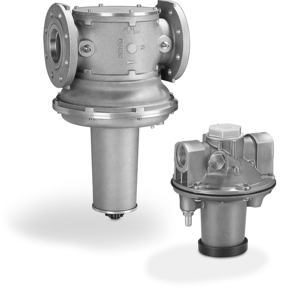 Air/gas ratio controls
