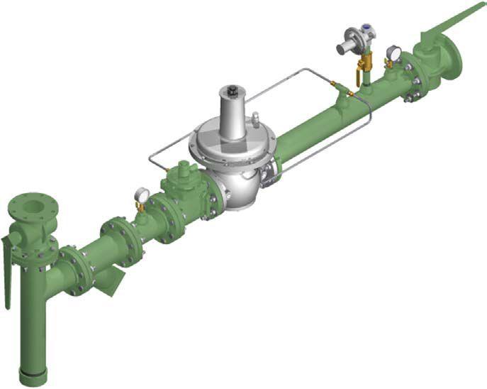 Regulator Gas Manifold