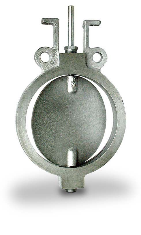 Wafer Butterfly Valves for Hot Air