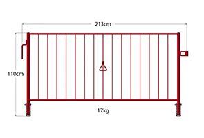 Combisafe Walkway Barriers Image