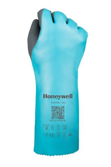 Honeywell Flextril Nitrile Chemical Gloves - fist