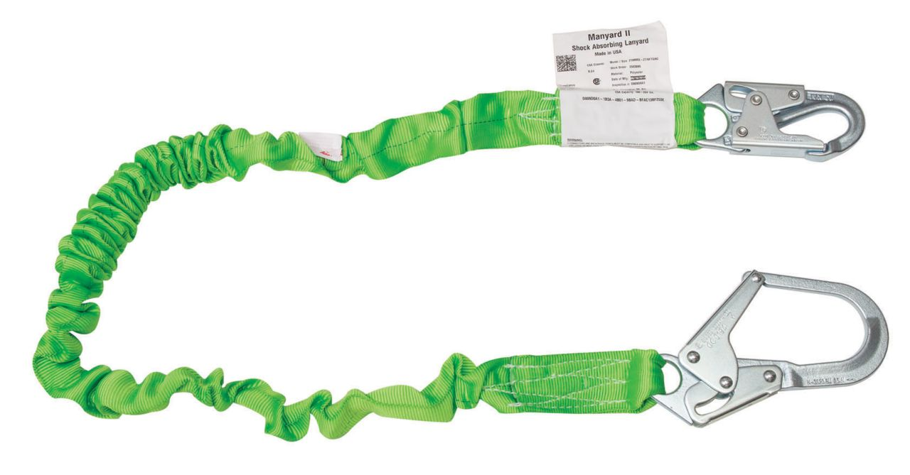 Miller Manyard™ II Stretchable Shock-Absorbing Lanyards_2