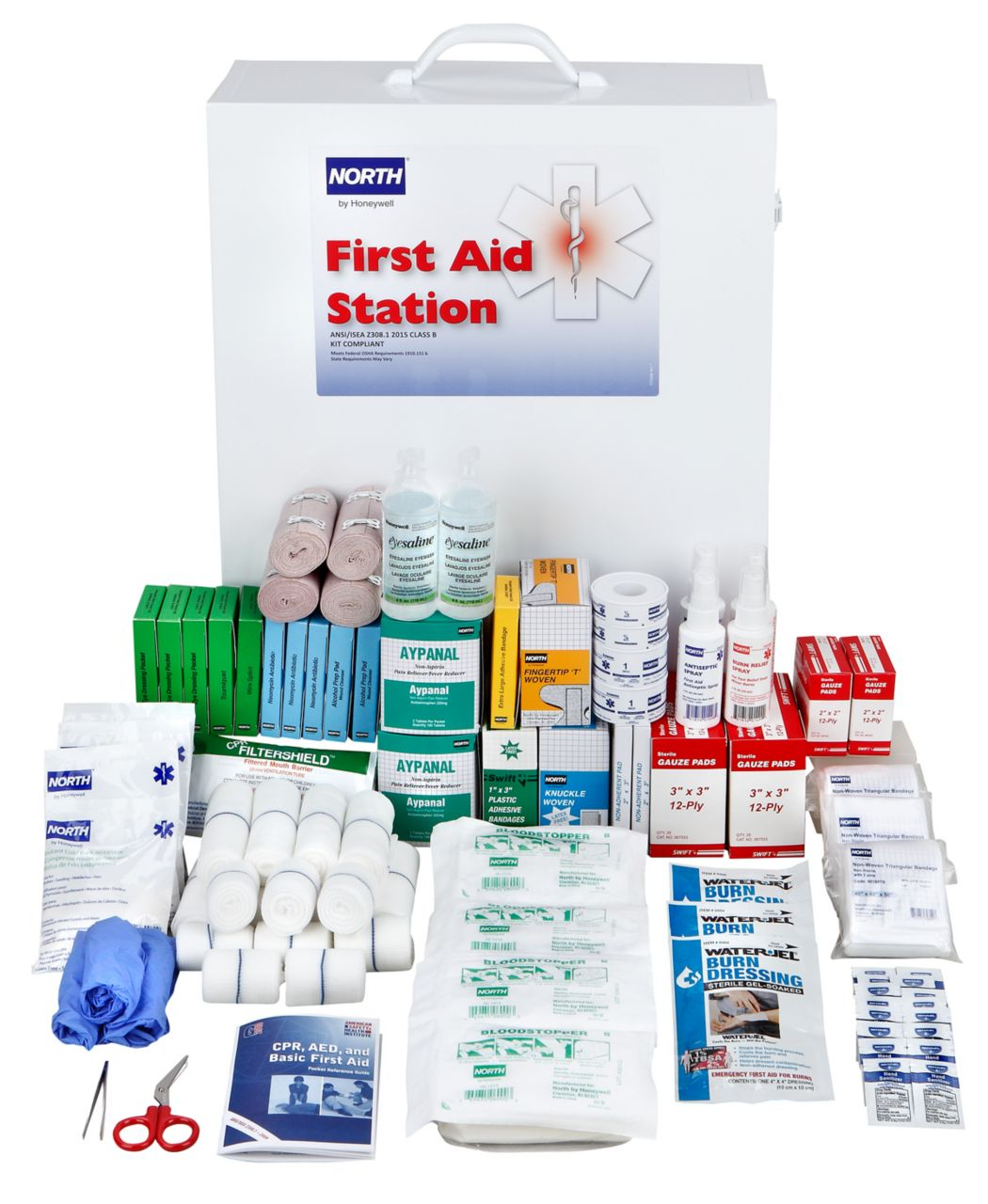 FAK200CAB-CLSB First Aid Kit Open