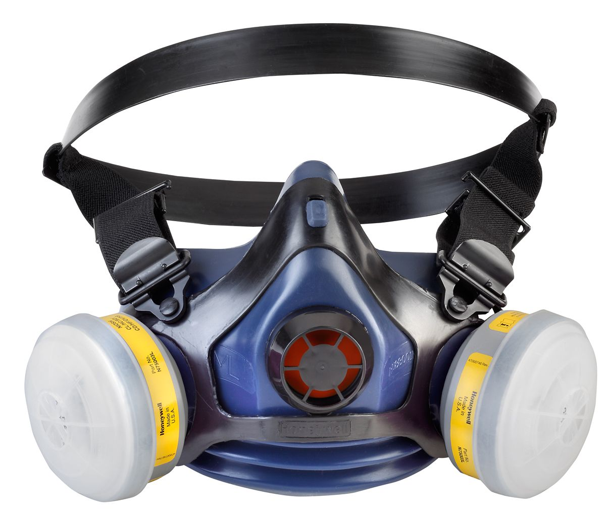 RU8800 Half Mask, Med/Lg, N75003L, 7506N95, N7500-27