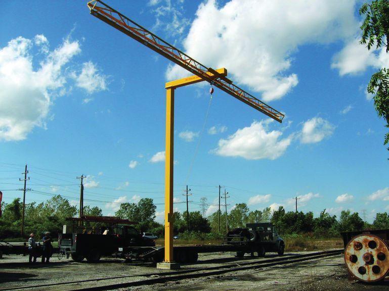 "Miller Rigid Rail Inverted ""L"" System"